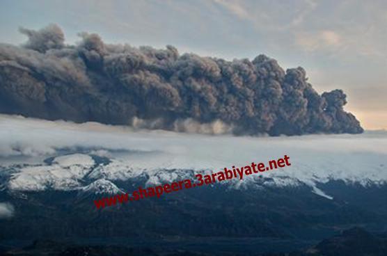 صور ثوران وسحاب بركان ايسلندا 519