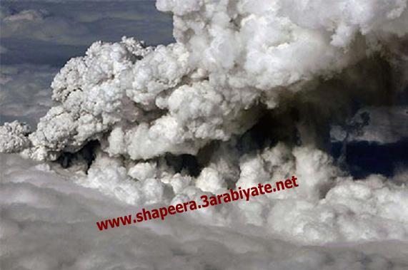 صور ثوران وسحاب بركان ايسلندا 617