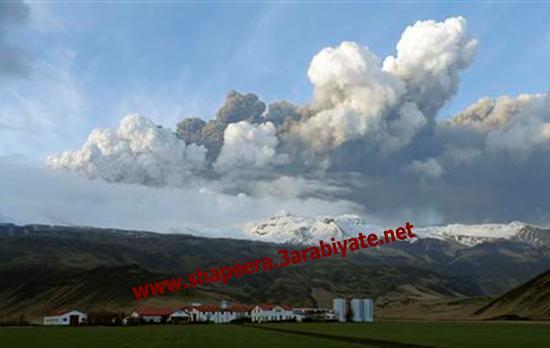 صور ثوران وسحاب بركان ايسلندا 717