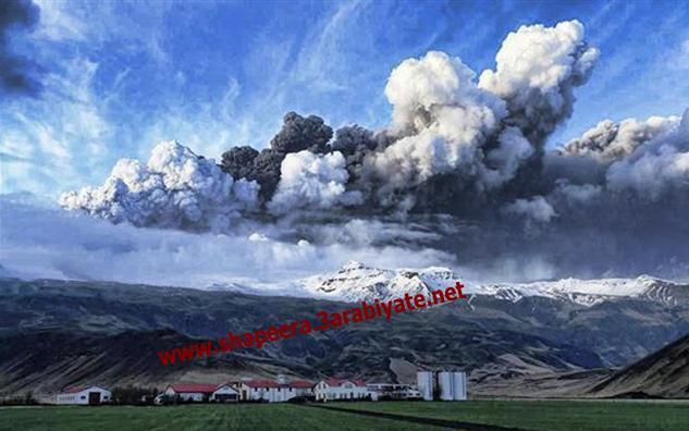صور ثوران وسحاب بركان ايسلندا 818