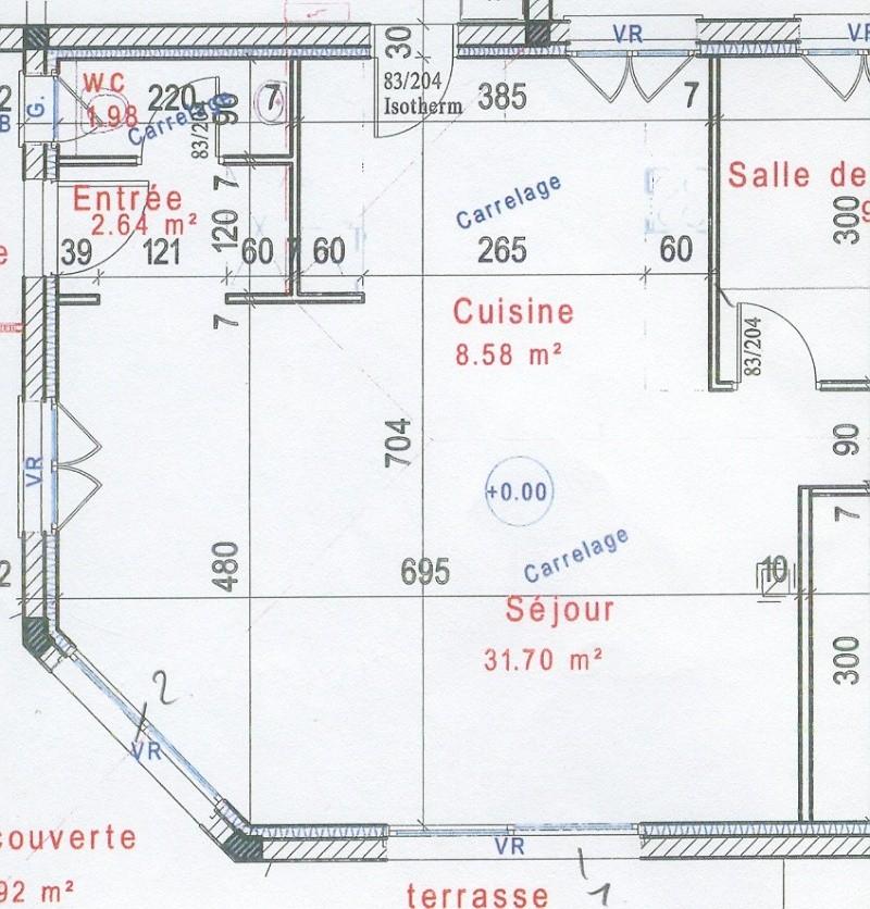 couleurs pour séjour + cuisine ouverte maison neuve Sejour11