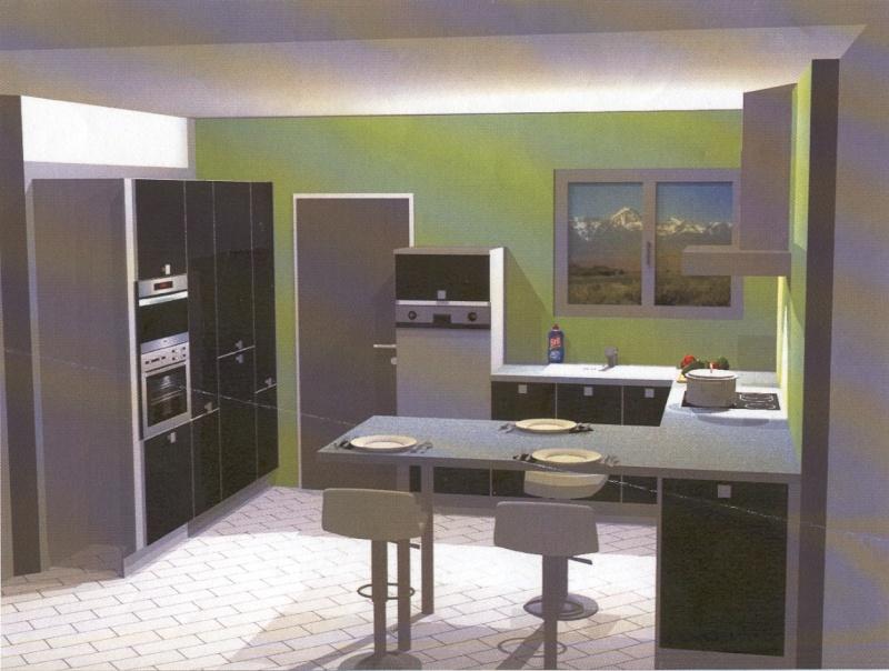couleurs pour séjour + cuisine ouverte maison neuve Simul_10