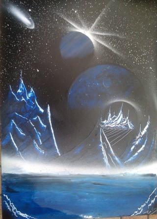 Le retour de loulou!!! et toutes mes peintures actuelles et à venir :) Citymo11
