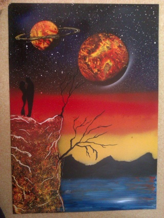 Le retour de loulou!!! et toutes mes peintures actuelles et à venir :) Couple11