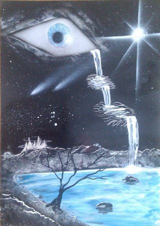 Le retour de loulou!!! et toutes mes peintures actuelles et à venir :) Oeilca11