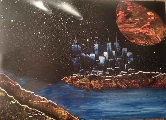 Le retour de loulou!!! et toutes mes peintures actuelles et à venir :) Ville10