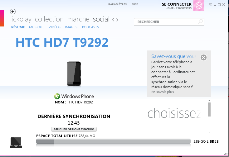 [Ancien Tuto]CHEVRONWP7 pour installer n'importe quelle application WP7 110