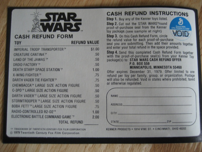Collecting Vintage Paper Work that show Vintage Star Wars Toys! Forum318