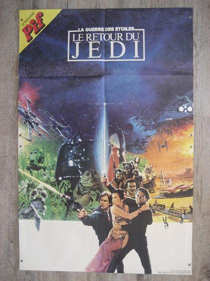 Vintage Star Wars French Toy Advertisements Pif75916
