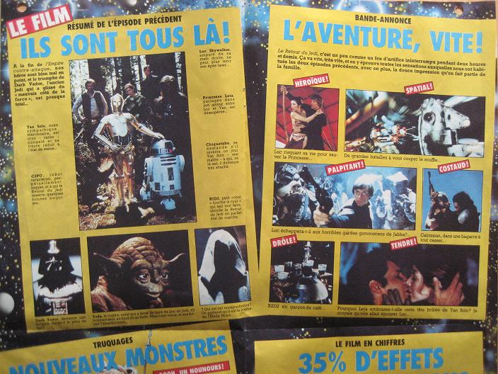 Vintage Star Wars French Toy Advertisements Pif75917