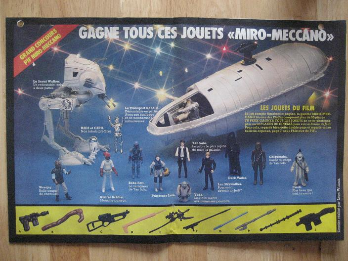 Vintage Star Wars French Toy Advertisements Pif75919