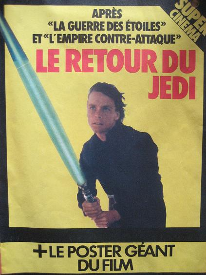 Vintage Star Wars French Toy Advertisements Pif75921