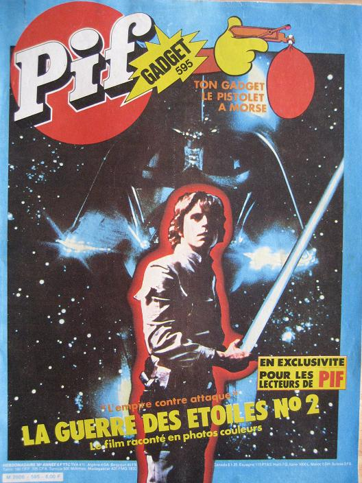 Vintage Star Wars French Toy Advertisements Pif_0010