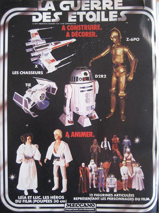 Vintage Star Wars French Toy Advertisements Pif_0011