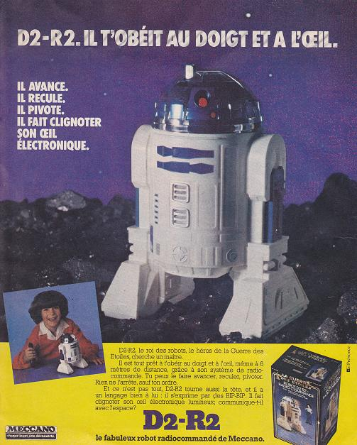 Vintage Star Wars French Toy Advertisements Pifgad12