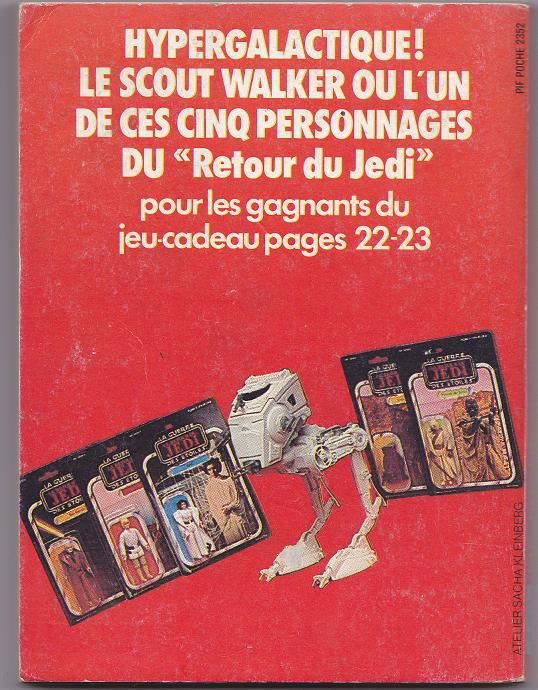 Vintage Star Wars French Toy Advertisements Pifpoc11