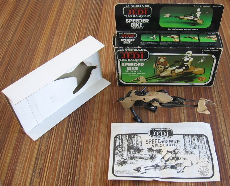 PROJECT OUTSIDE THE BOX - Star Wars Vehicles, Playsets, Mini Rigs & other boxed products  - Page 2 Speede27