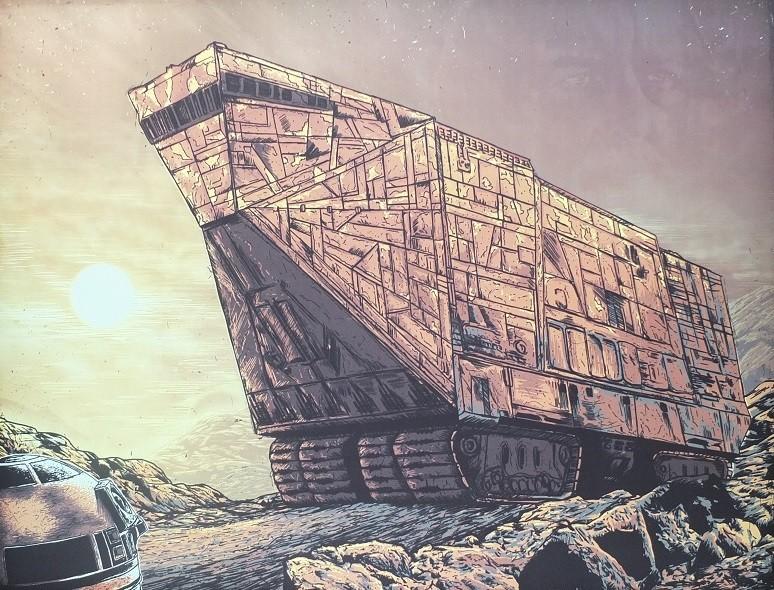 Star Wars An Art Odyssey - exhibition Marseille France Star_w13