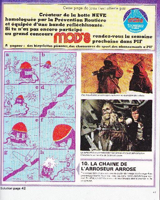 Vintage Star Wars French Toy Advertisements Sw_pif12