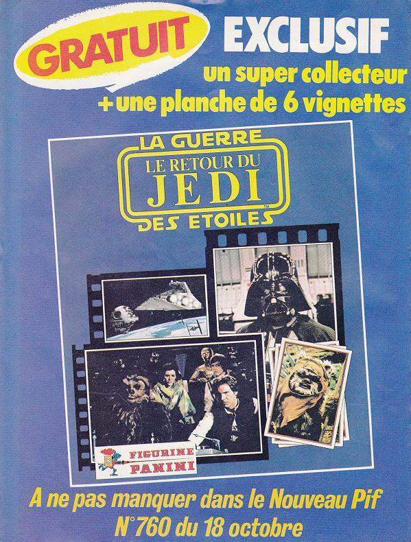 Vintage Star Wars French Toy Advertisements Tvtr_s10