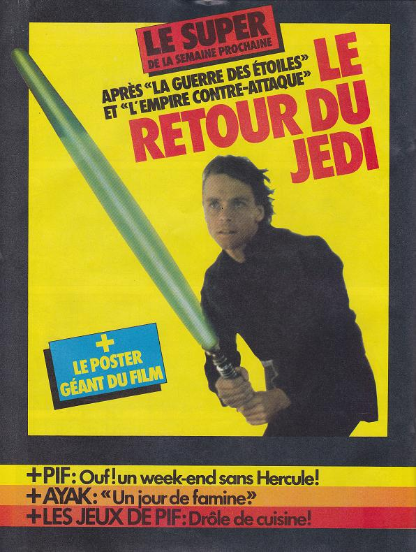 Vintage Star Wars French Toy Advertisements Tvtr_s11