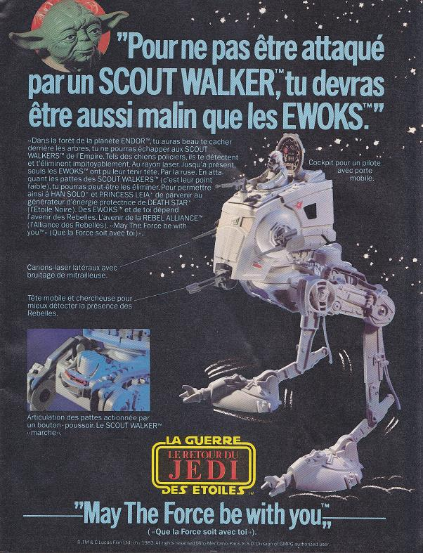 Vintage Star Wars French Toy Advertisements Tvtr_s15