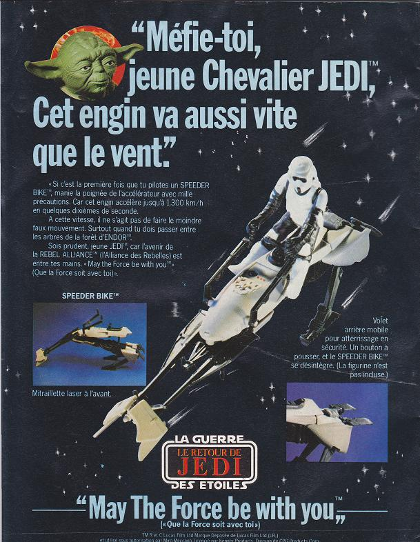 Vintage Star Wars French Toy Advertisements Tvtr_s18