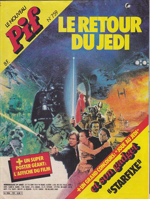 Vintage Star Wars French Toy Advertisements Tvtr_s21