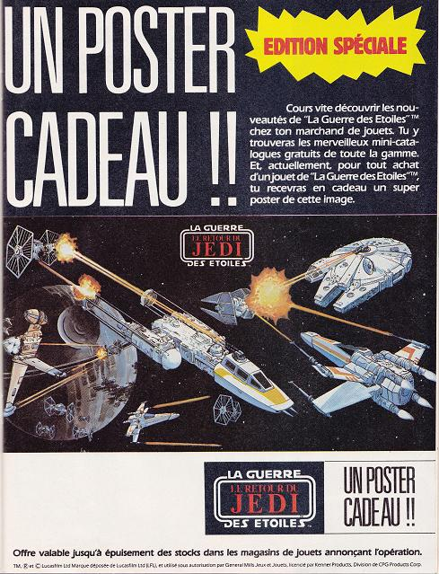 Vintage Star Wars French Toy Advertisements Tvtrsw10