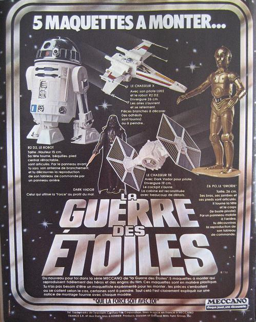 Vintage Star Wars French Toy Advertisements Variou13