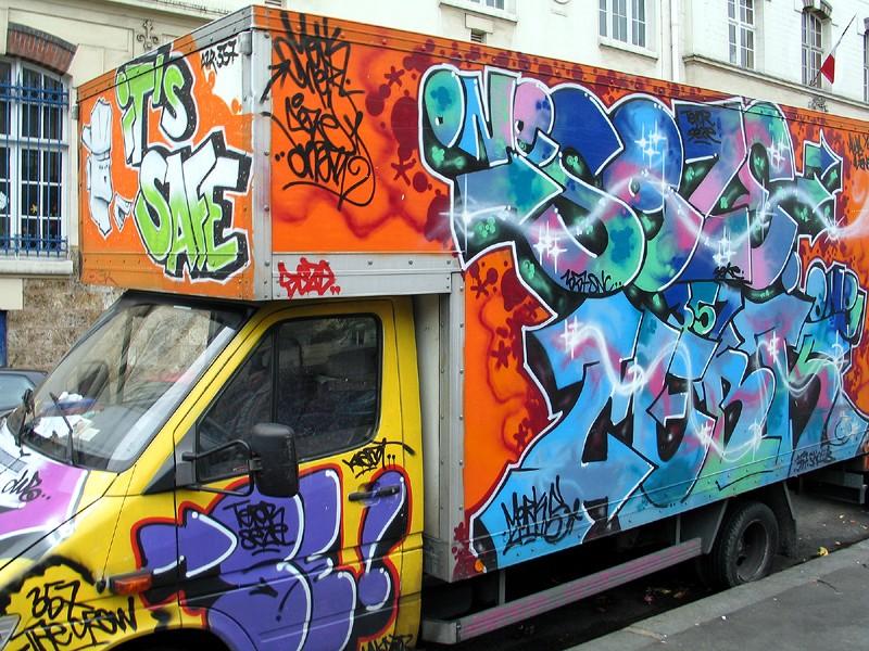 Poster un graffiti Painte10