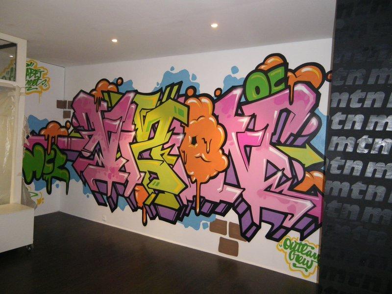 Poster un graffiti Vizion12