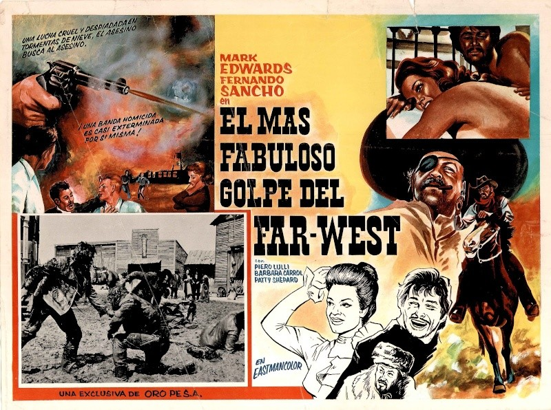Hold-Up à Sun Valley (El más fabuloso golpe del Far-West) - 1971 - José Antonio de la Loma 18010