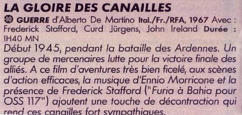 La gloire des canailles - Dalle Ardenne all'inferno - 1967 - Alberto De MARTINO Canail12