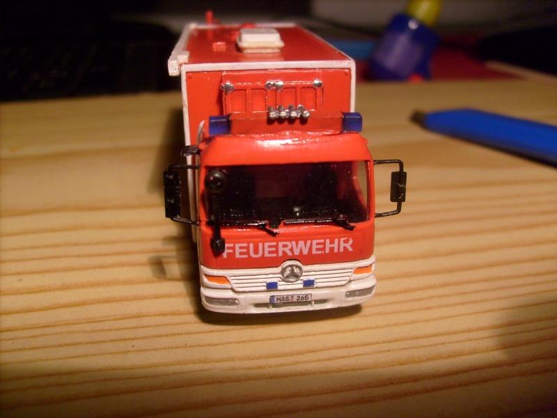 Umbau 1:87 Einsatzleitwagen ELW 2 auf Mercedes Benz Atego S7300212