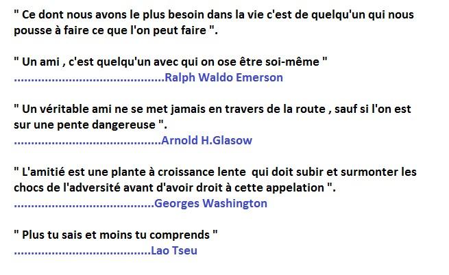 Amitié ( citations )  Cita10