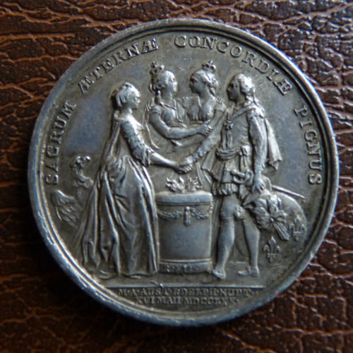 Le mariage de Louis XVI et Marie-Antoinette  - Page 9 Avers_10