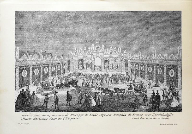 Le mariage de Louis XVI et Marie-Antoinette  - Page 9 Gravur10