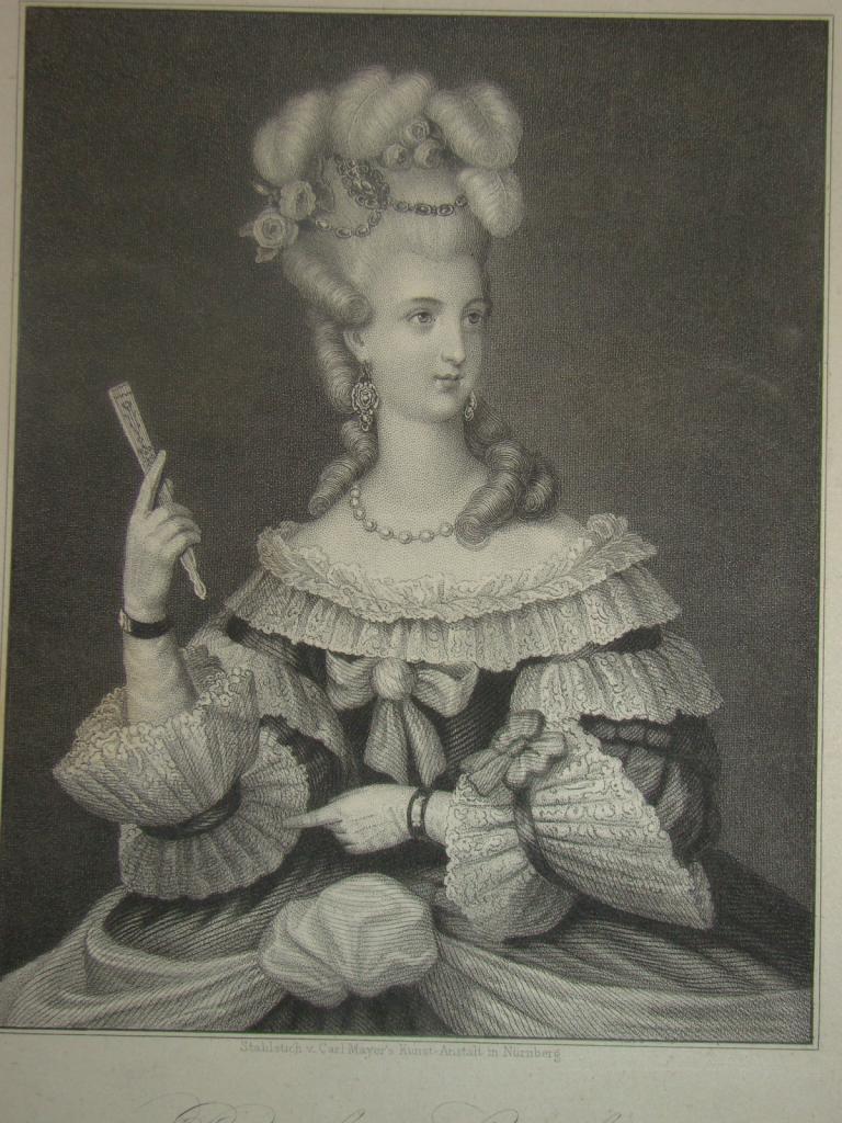 Portraits de Marie Caroline d'Autriche, reine de Naples et de Sicile Marie_14