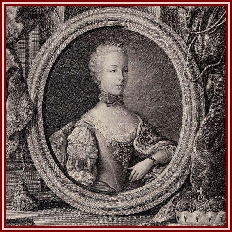 Portraits de Marie Caroline d'Autriche, reine de Naples et de Sicile Marie_17