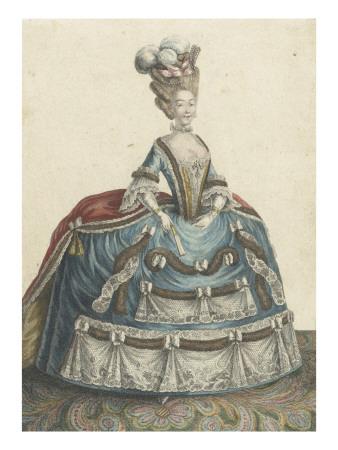 """La robe dite """"de chambre"""", pour les femmes, au XVIIIè siècle Voysar10"""