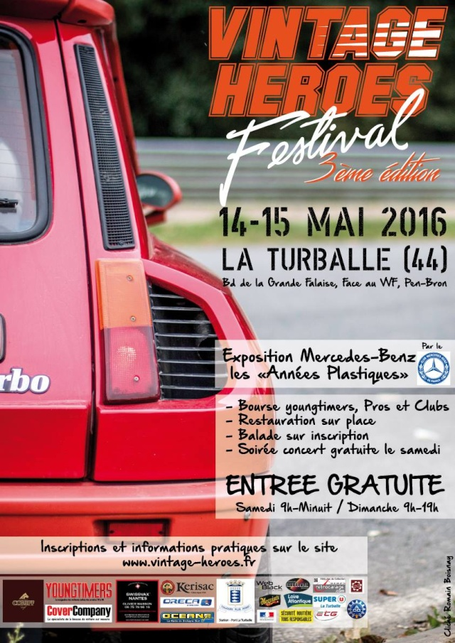 Vintage Heroes Festival - 14-15/05/2016 La Turballe (44) 12596811