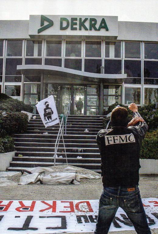 Manifestation contre le controle technique  Img38811
