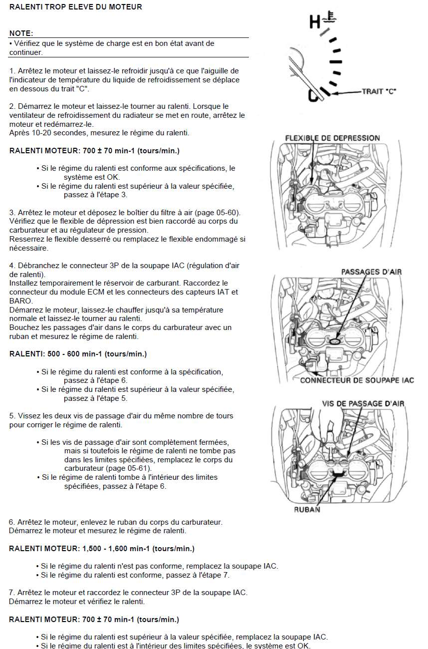 consommation essence GL1800 - Page 2 Ralent10