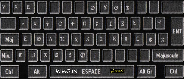 Amazigh - Telecharger installer et ecrire avec police Tifinagh (Amazigh) Clavie10