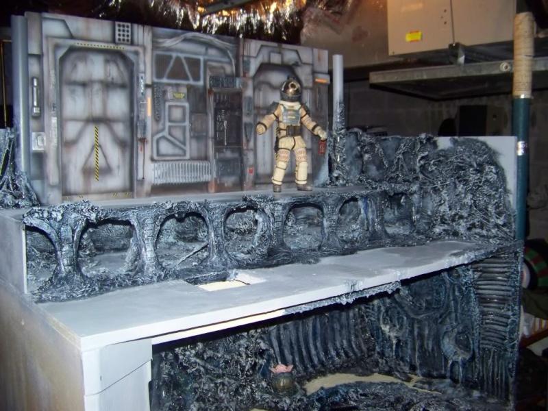 Diorama Alien&Predator. 100_1510