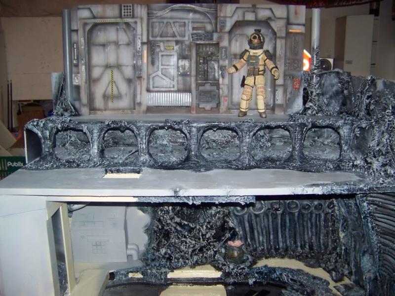 Diorama Alien&Predator. 100_1511