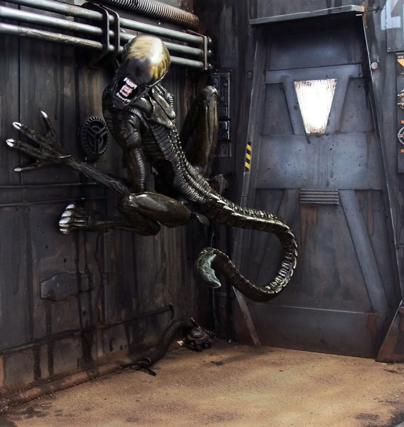 Diorama Alien&Predator. 100_5711