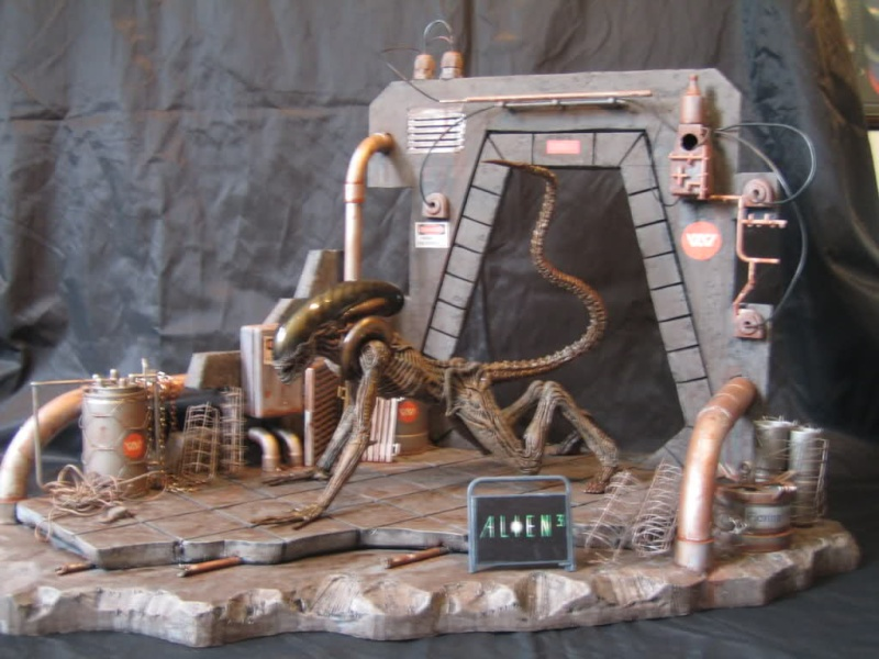 Diorama Alien&Predator. 292u3r10