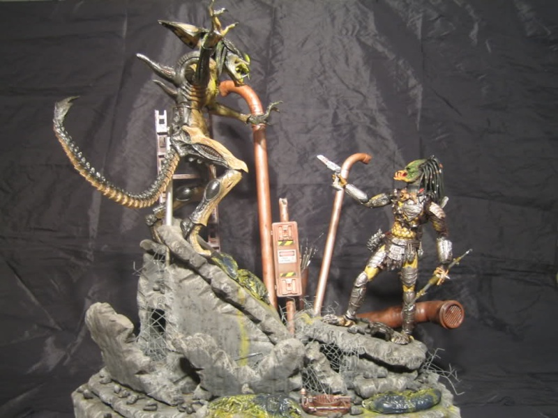 Diorama Alien&Predator. 2d145910